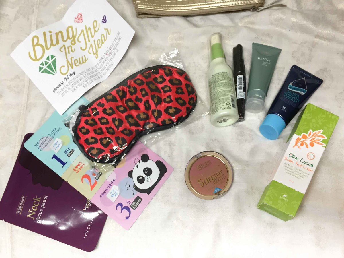 January Beauteque Bag Review